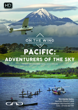 Poster of Pacific: adventurers of the sky (Vanuatu, New Zealand, Papua)