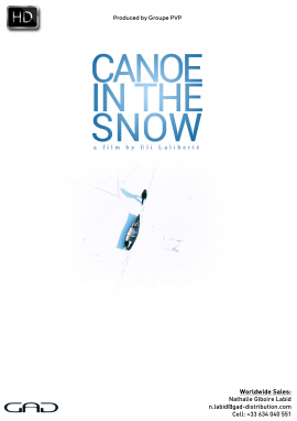 Canoe in the Snow