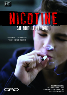 Nicotine, an addictive drug