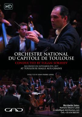Affiche de Orchestre National du Capitole de Toulouse joue Gustav Holst et Henri Dutilleux