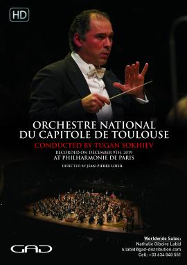 Affiche de Orchestre National du Capitole de Toulouse joue Shostakovich