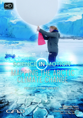 Poster of Mapping the artic climate change