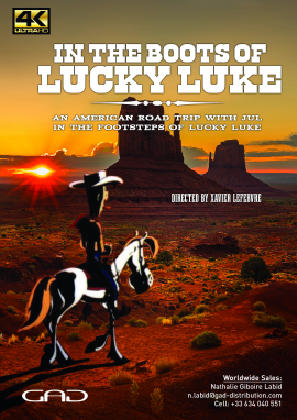 Poster of In the boots of Lucky Luke