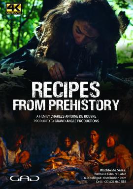 Affiche de La cuisine de la préhistoire