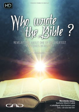 Affiche de Qui a écrit la Bible? Révélations sur l'un des plus grands mystères de l'Histoire
