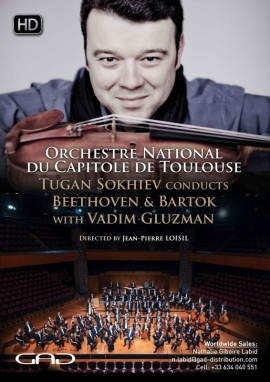 Poster of Tugan Sokhiev conducts Beethoven and Bartok With Vadim Gluzman (violin)