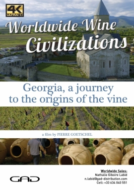 Poster of A journey to the origins of the vine (Georgia)