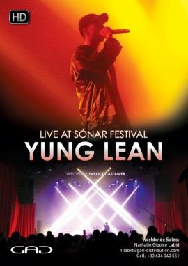Affiche de Yung Lean au Sónar Festival 2016
