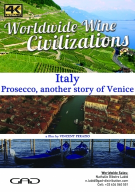 Poster of Prosecco, another story of Venice (Italy)