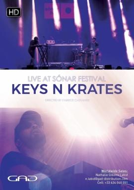 Affiche de Keys N Krates au Sónar Festival 2017