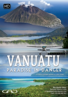 Poster of Vanuatu, paradise in danger