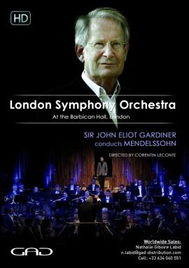 Affiche de Sir John Eliot Gardiner dirige Mendelssohn
