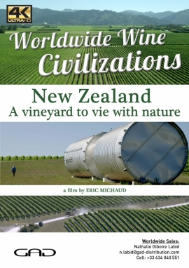 Poster of A vineyard to vie with nature (New Zeland)