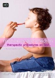 Affiche de Médicaments et enfants, des protocoles thérapeutiques au banc d'essai